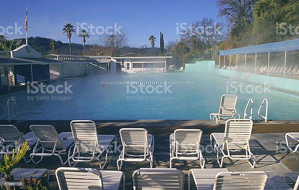 Calistoga spa royalty-free stock photo