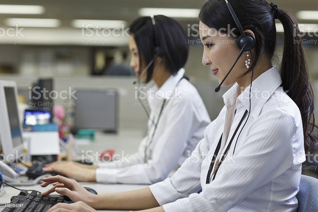 コールセンター-日本 ストックフォト