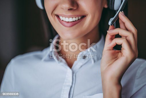 istock Call center workers. 903569308