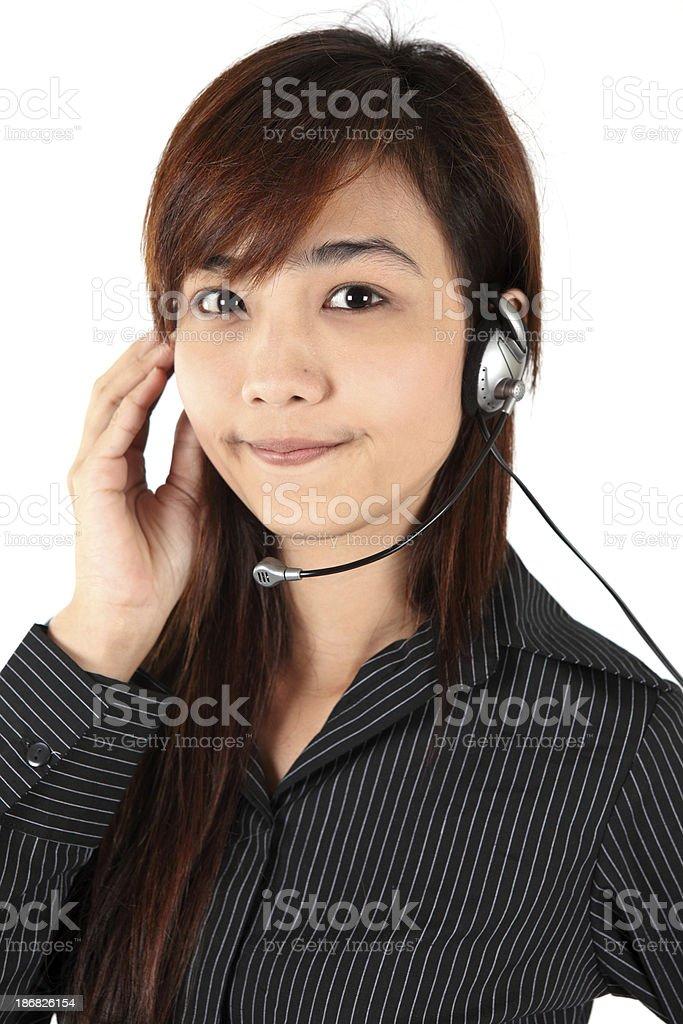 Call centre stock photo