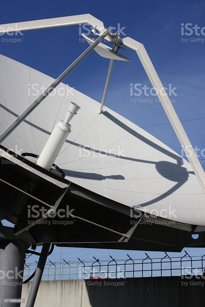 Call Centre Satellite Dish stock photo