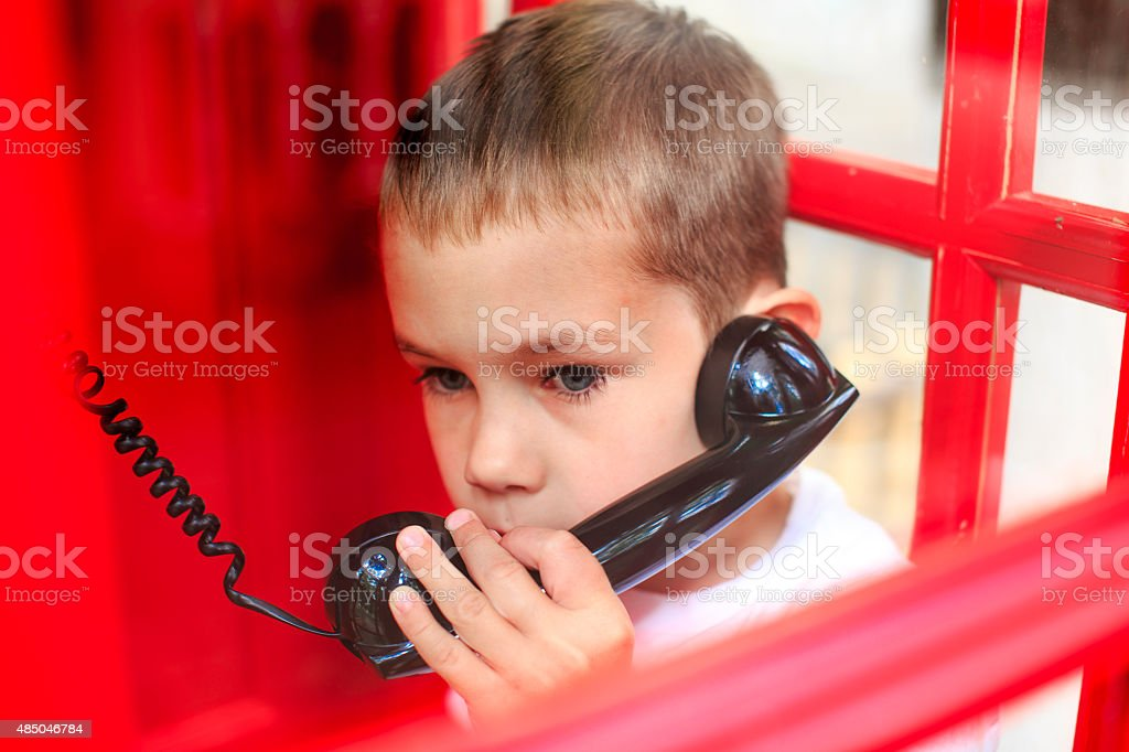 call emergency services stock photo
