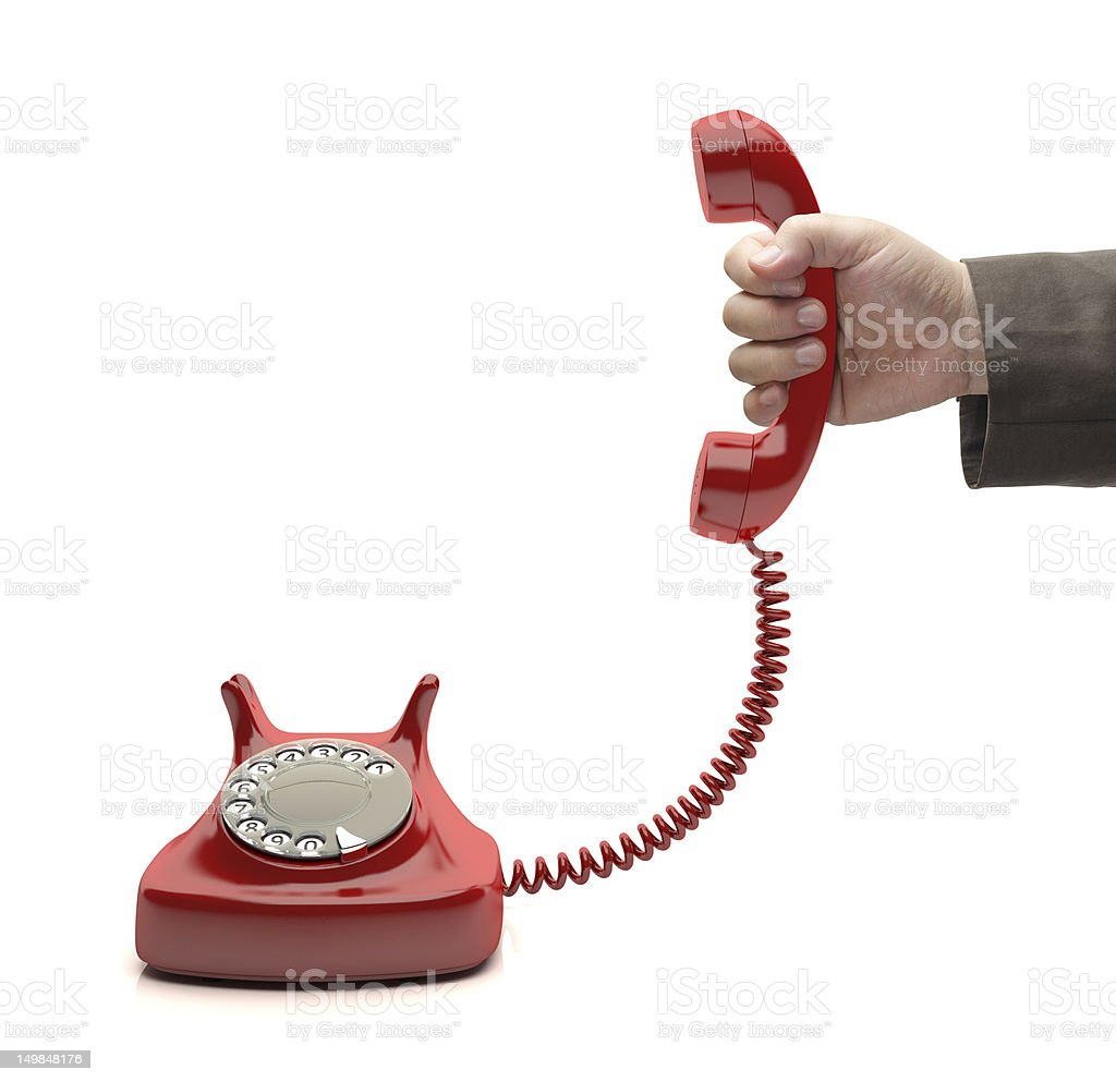 Call For You stock photo