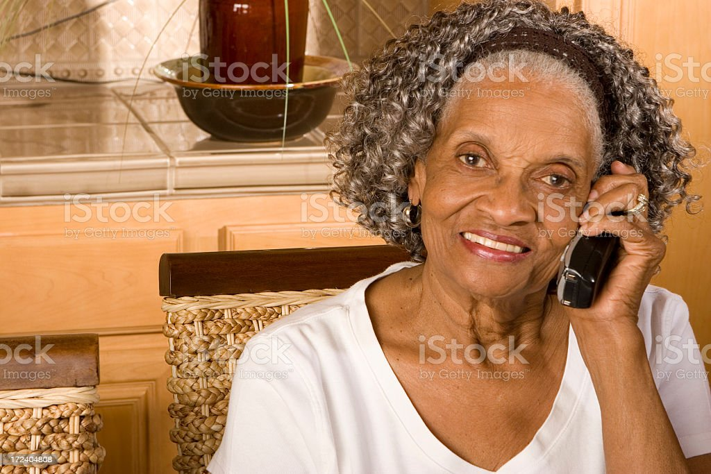 Call from grandma royalty-free stock photo