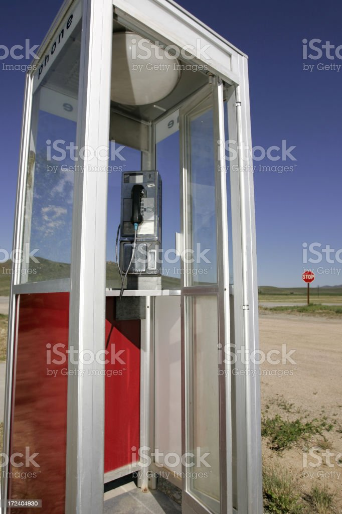Call from Nowhere royalty-free stock photo