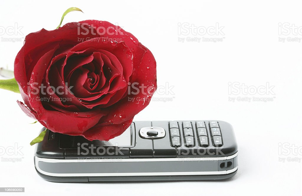 call me for a date! royalty-free stock photo