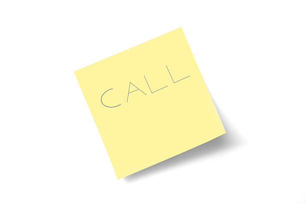 call note stock photo