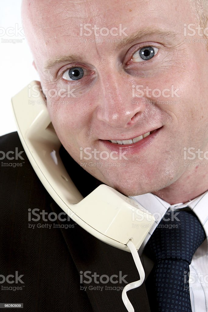 Call royalty-free stock photo