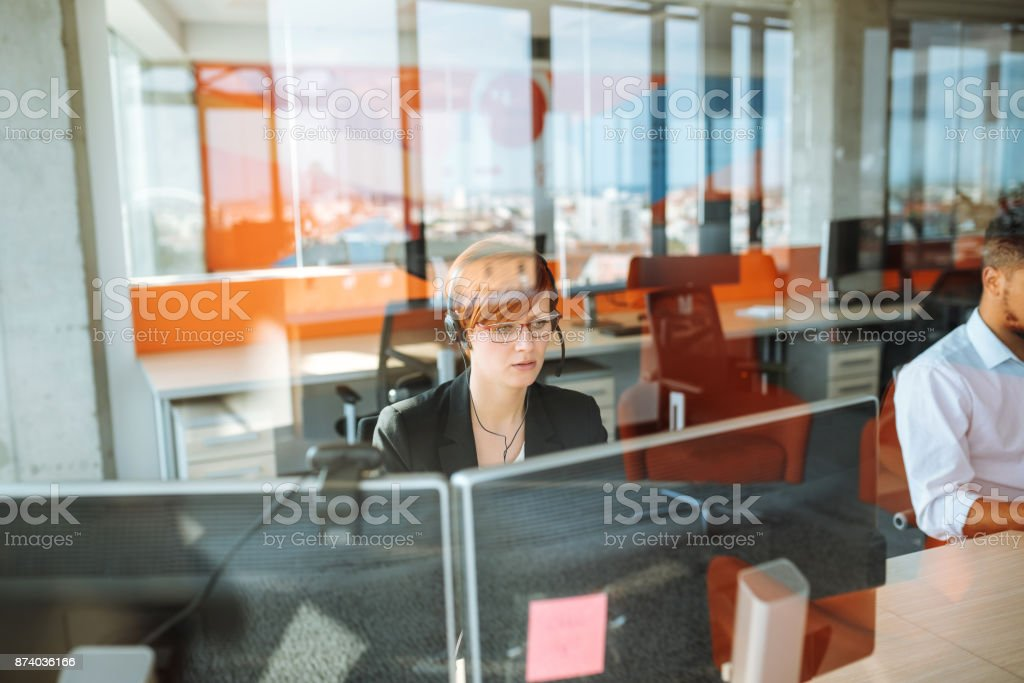 Call us for all your IT needs stock photo
