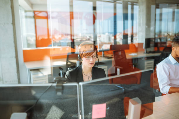 call us for all your it needs - call center stock photos and pictures