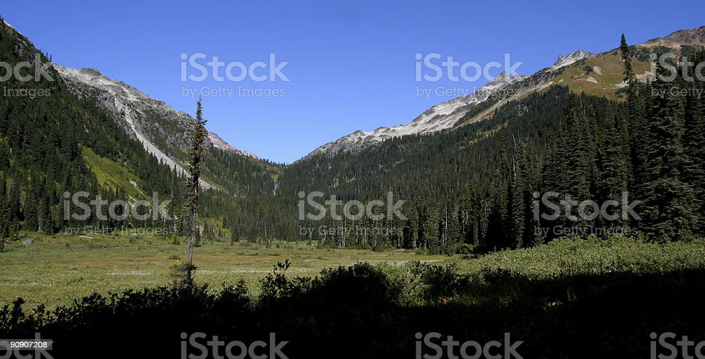 Callaghan Valley royalty-free stock photo