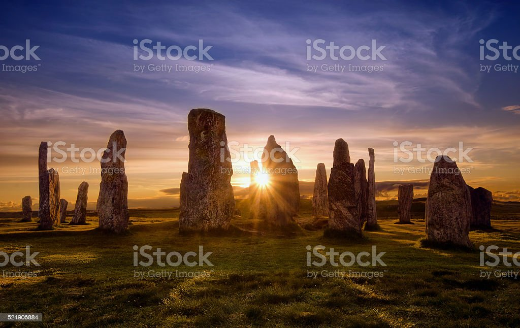 Callanish Circle stock photo