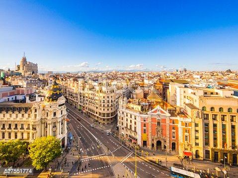 istock Calle de Alcala in Madrid, Spain 527551774