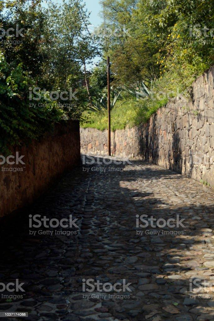 Calle de Cantera y Piedra - foto de stock