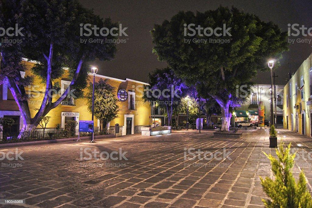 Callejón de los Sapos, Puebla stock photo