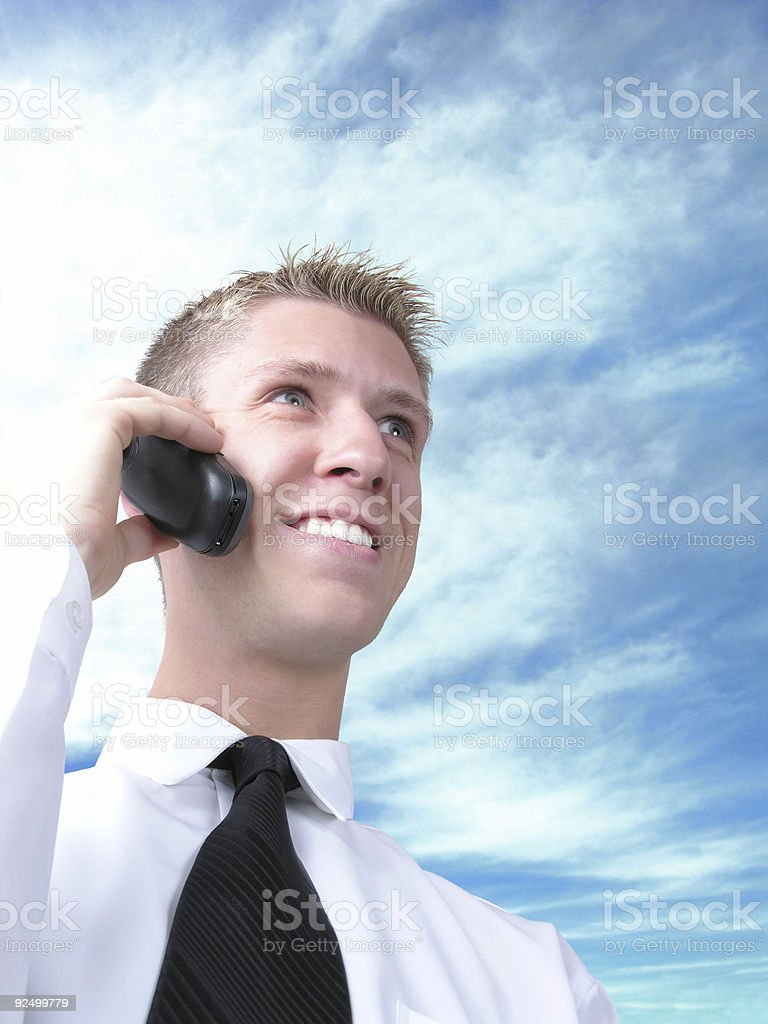 calling again 1 royalty-free stock photo