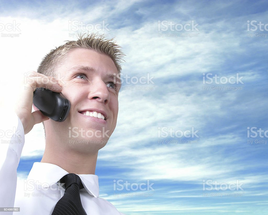 Calling again 2 royalty-free stock photo