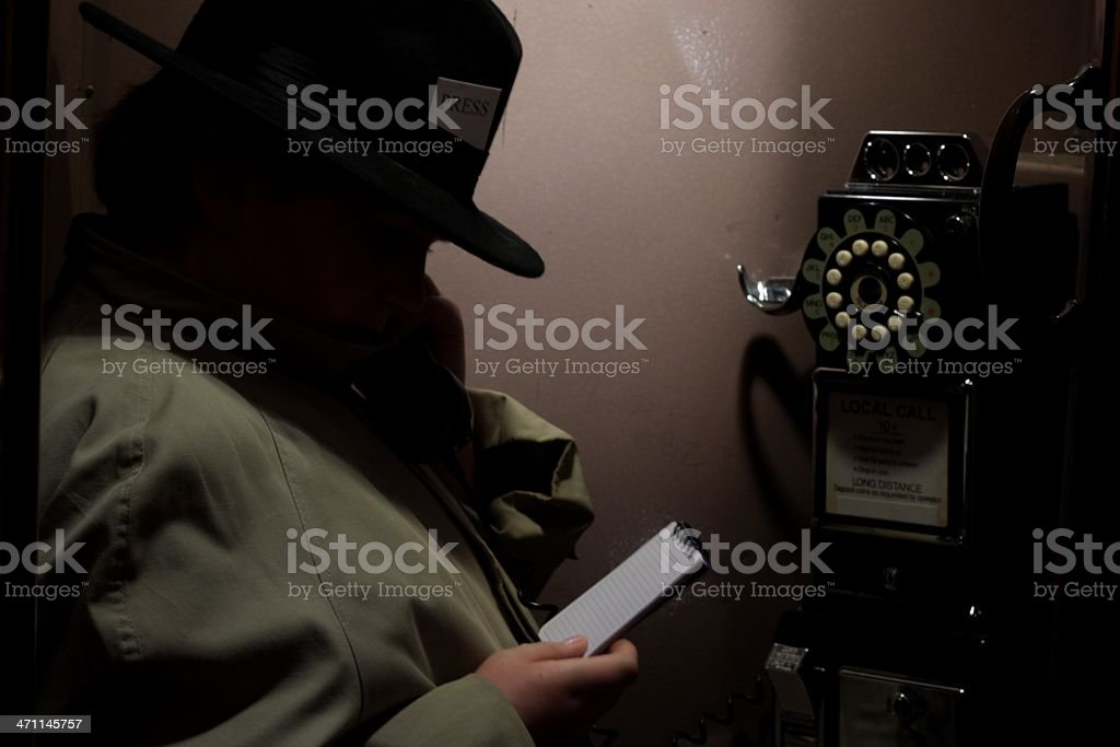 Calling In The Story royalty-free stock photo