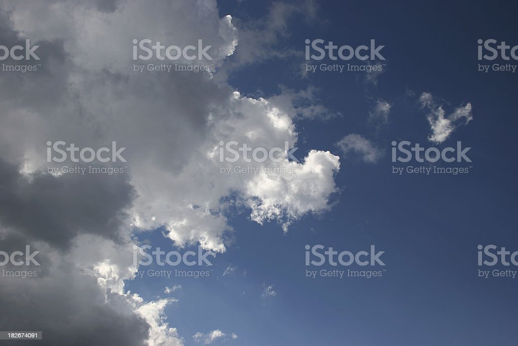 Calm After the Storm royalty-free stock photo