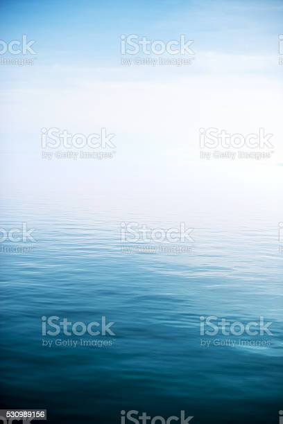 Photo of Calm and deep blue lake
