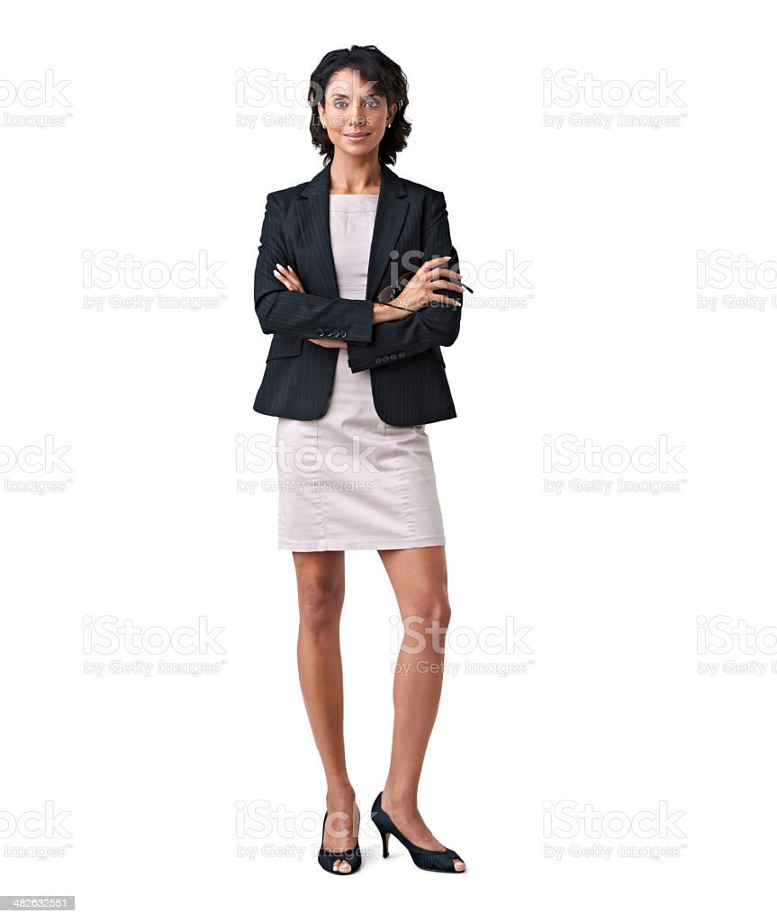 Calm and professional stock photo