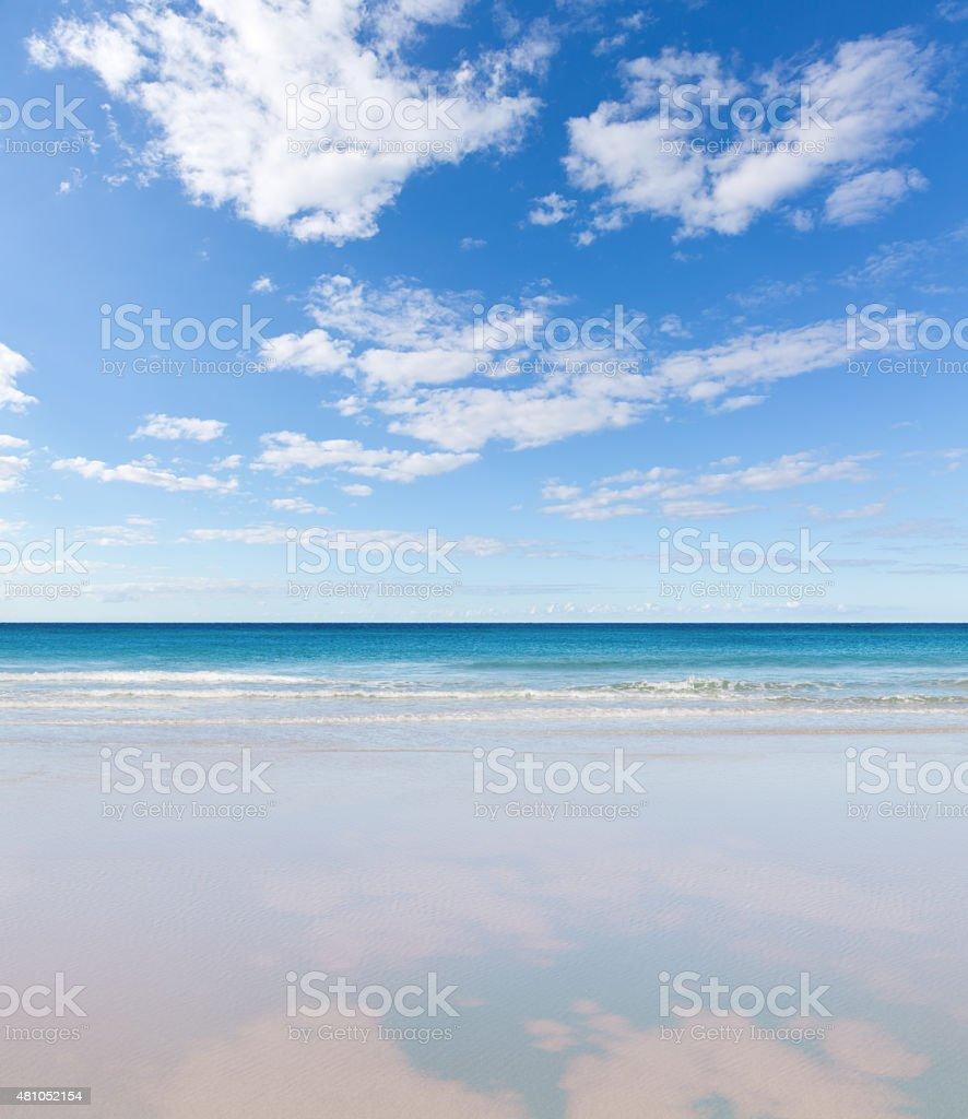 Calm Beach stock photo