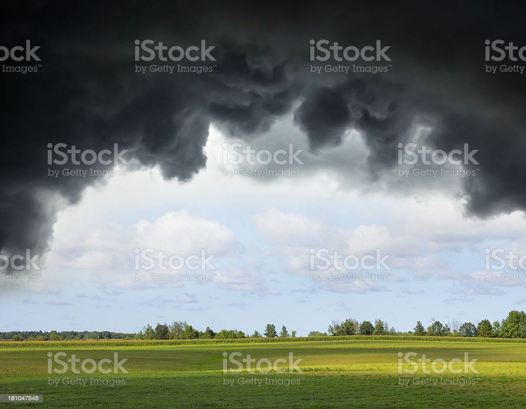 Calm Before the Storm stock photo