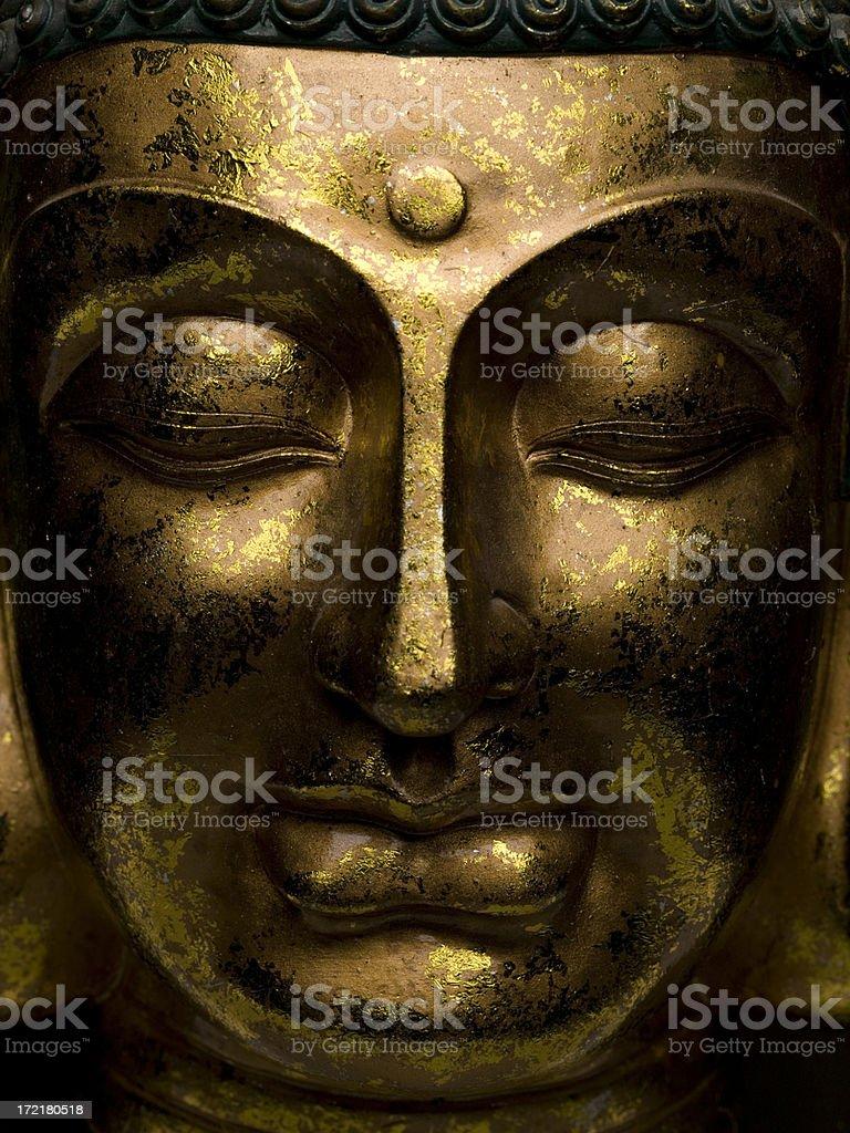Ruhige Buddha Gesicht – Foto