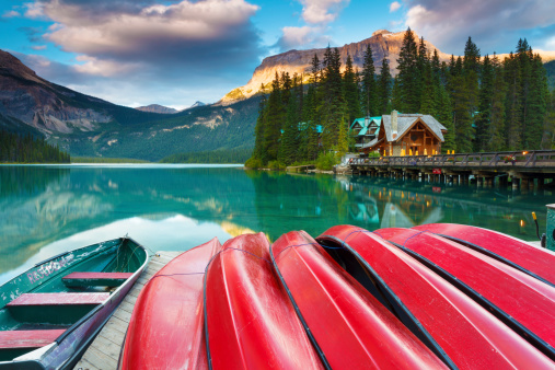 istock Calm Evening at Emerald Lake 169937668