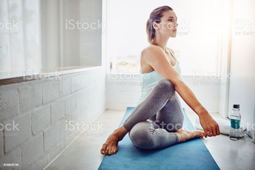 Calm is a super power stock photo