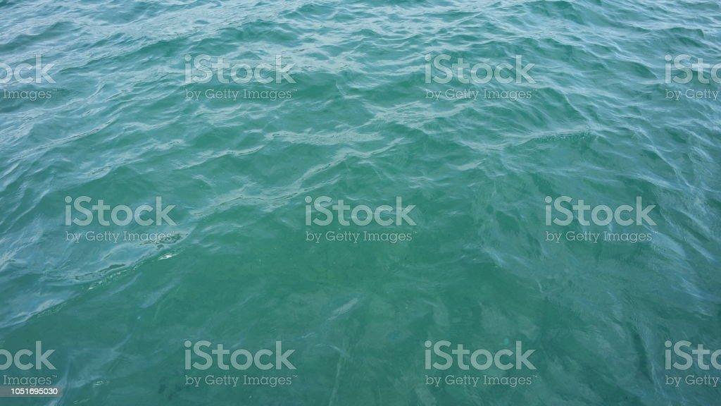 Ruhige See Wasser Hintergrund klar kleine Wellen – Foto