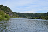 2020 Hatzenport, Mosel valley in Germany, area between Trier and Koblenz