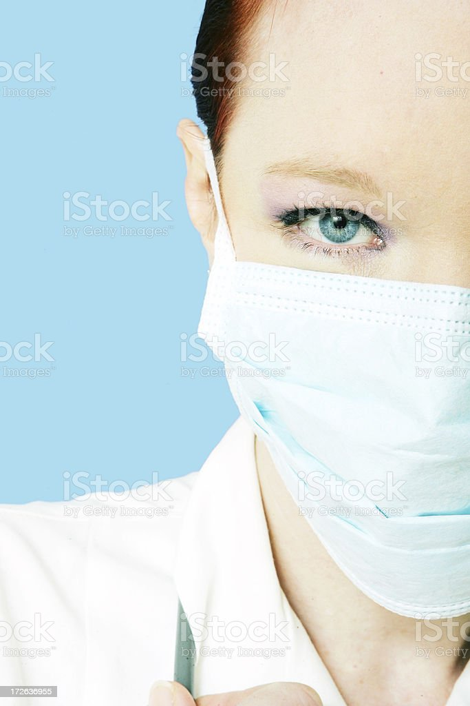 Calm Nurse royalty-free stock photo