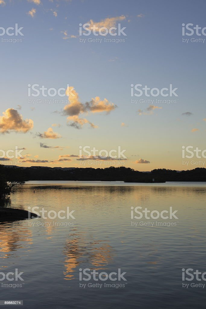 Calm reflections royalty-free stock photo