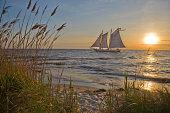 Calm Sailing on an old Tall Ship