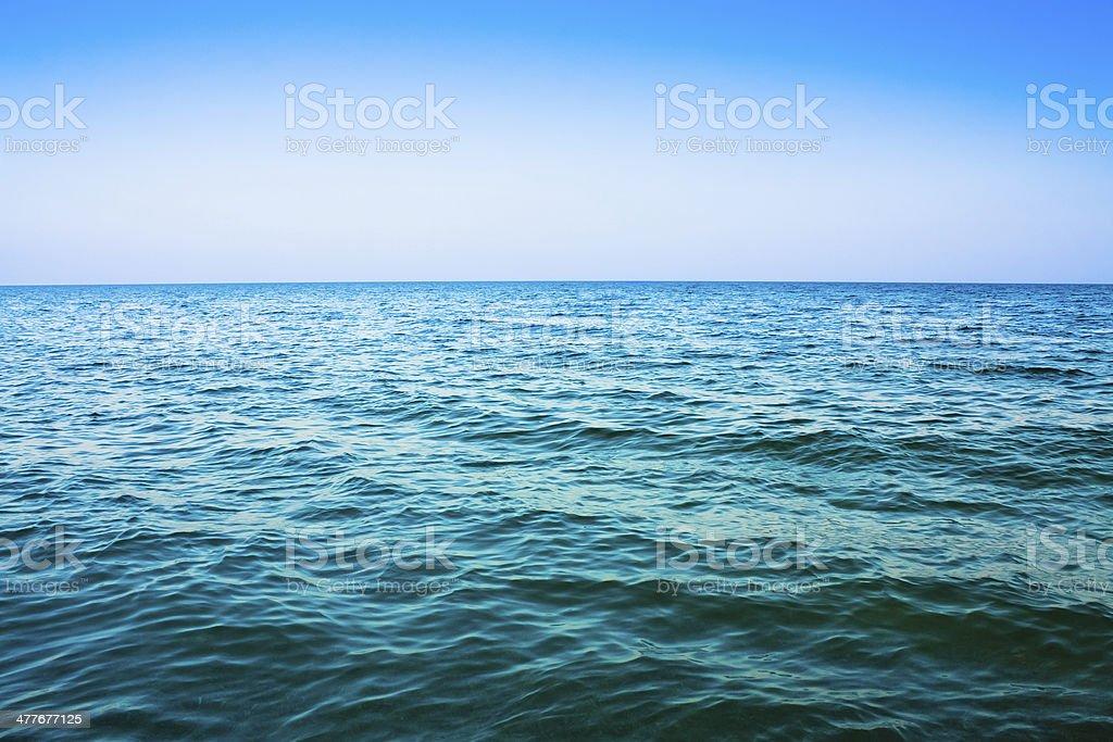 Calm sea ocean royalty-free stock photo