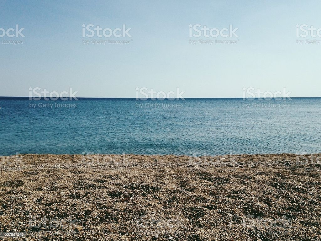 Calm summer day stock photo