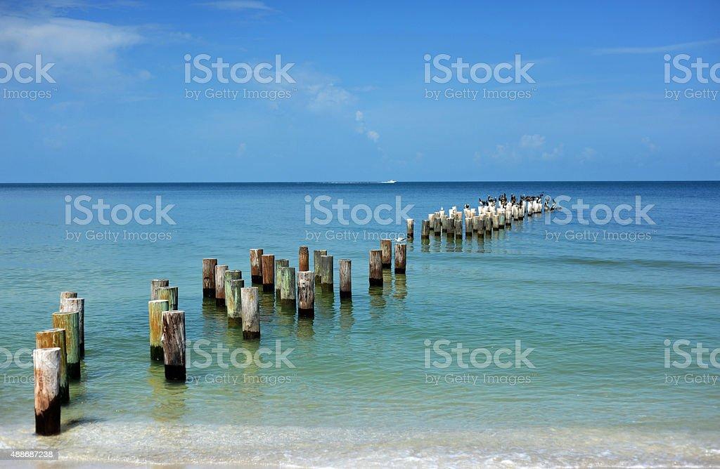Águas calmas - foto de acervo
