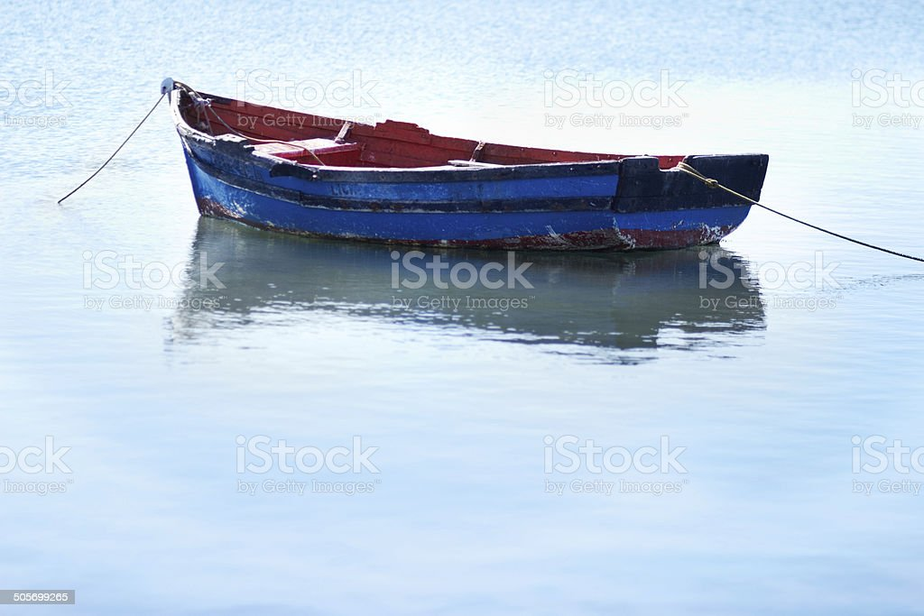 Calm waters stock photo