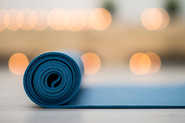 Calming Yoga stock photo