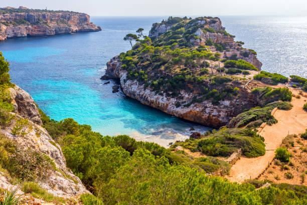 Calo des moro beach, Mallorca - foto stock