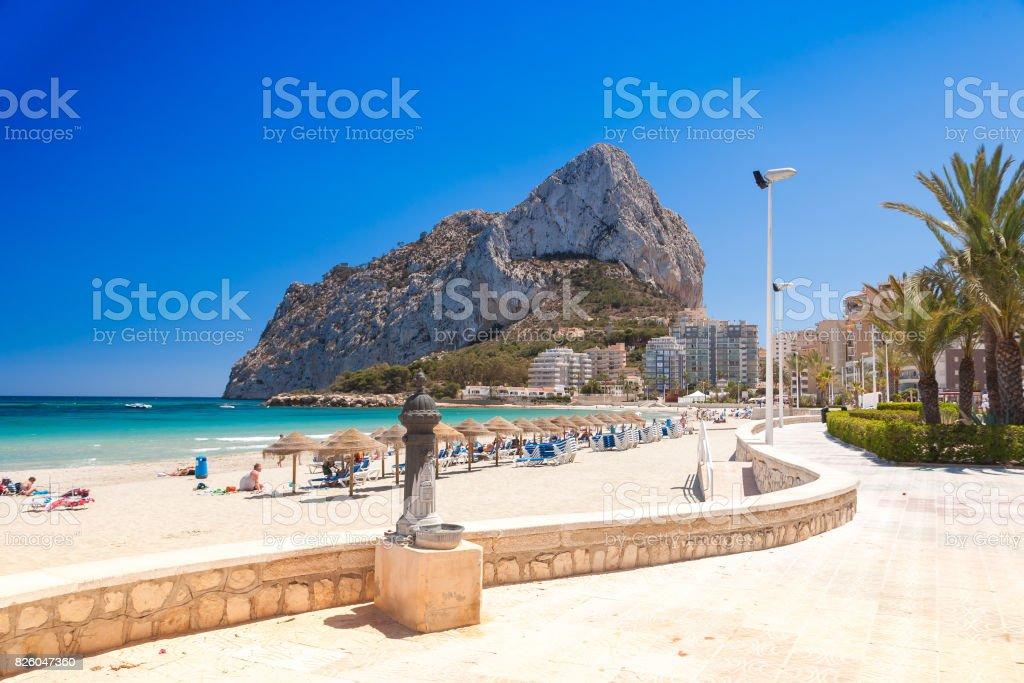 Calpe, Spain stock photo