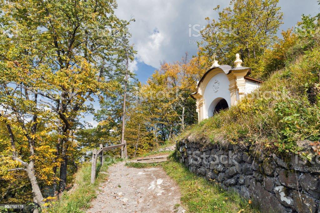 Stiavnica, 슬로바키아 반스카 갈 보 리입니다. - 로열티 프리 0명 스톡 사진