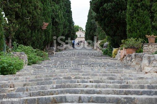 istock Calvary Steps in Pollensa on Majorca 531425931