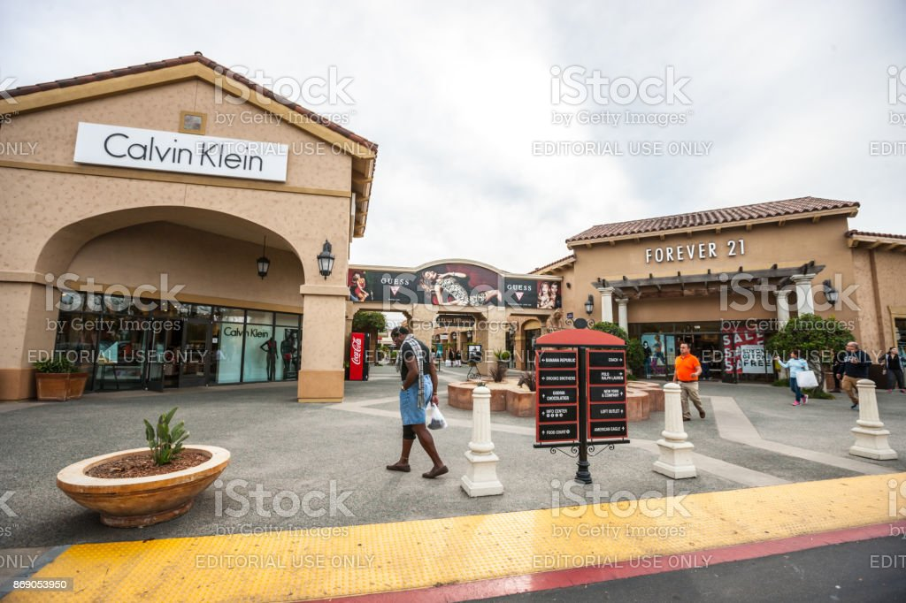 calvin klein and forever 21 in las americas shopping mall san diego