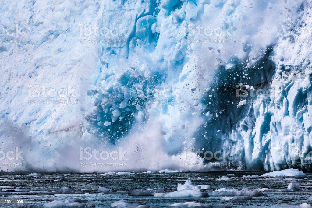Kalbende Gletscher Aialik – Foto