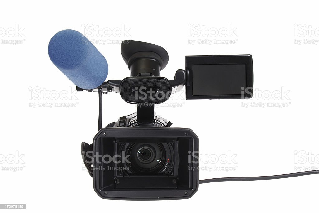 HD-TV Cam 5 (with cable) royalty-free stock photo