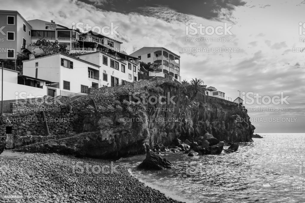 Camara de Lobos, Madeira, Portugal stock photo