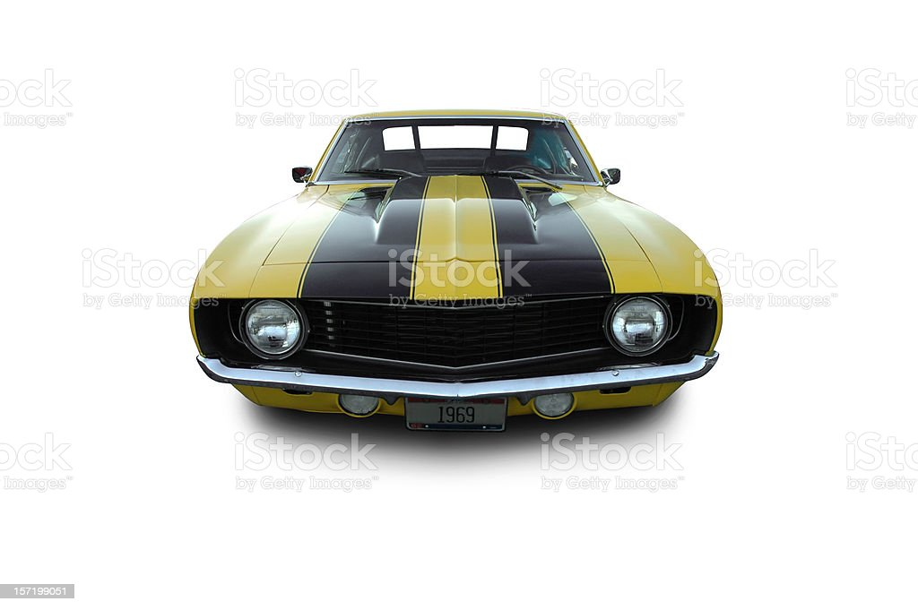 Camaro from 1969 royalty-free stock photo