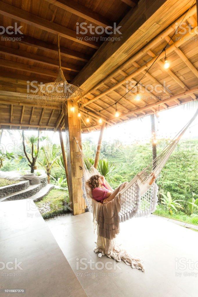 Camaya Bali Magical Bamboo House Stock Photo Download